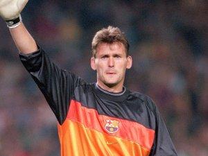 Hesp va jugar més d'un centenar de partits al Barça.